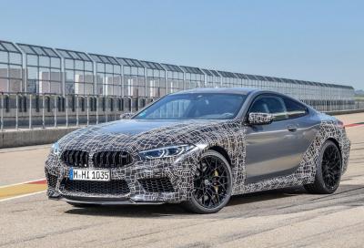 Nuova BMW M8: settaggi infiniti con l'M Mode