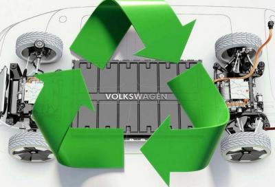 Volkswagen: soluzione per il riciclaggio delle batterie