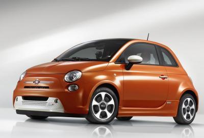 Fiat 500 elettrica: arrivo previsto nel 2020