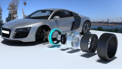 Elaphe L1500: come ti elettrizzo un'Audi R8