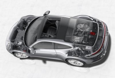 Porsche 911 (992) Carrera S e 4S: novità tecniche sotto pelle