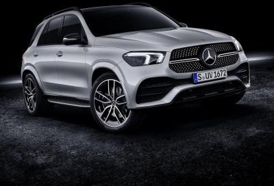 Mercedes-Benz GLE 580: V8 con il mild-hybrid
