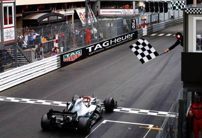 F1, Hamilton vince a Monaco davanti a Vettel
