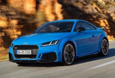 Audi: la TT diventa elettrica mentre la R8 scompare