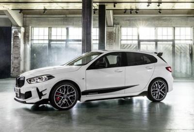 Nuova BMW Serie 1: arrivano gli M Performance Parts