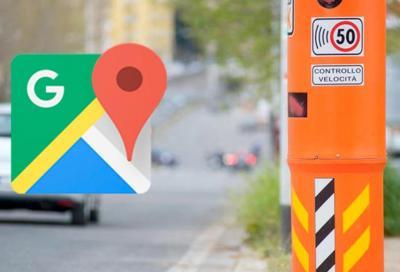 Google Maps ora vi informa anche sugli autovelox