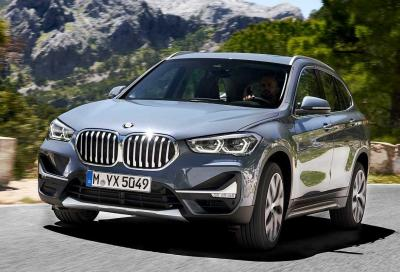 Nuova BMW X1: il restyling profuma di ibrido