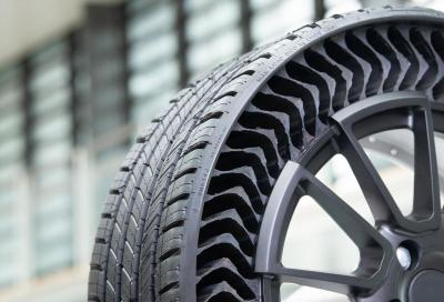 Michelin Uptis: l'innovativo pneumatico privo di aria