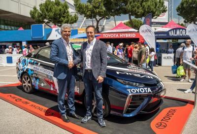 Toyota ed Eni: accordo per le auto ad idrogeno