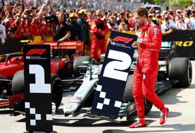 F1, Vettel taglia per primo il traguardo di Montreal ma vince Hamilton