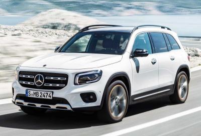 Nuova Mercedes GLB: compatta ma agguerrita