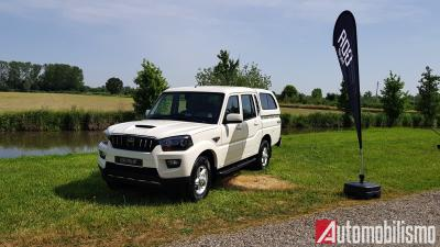 Mahindra Goa: il pick-up pronto all'impresa
