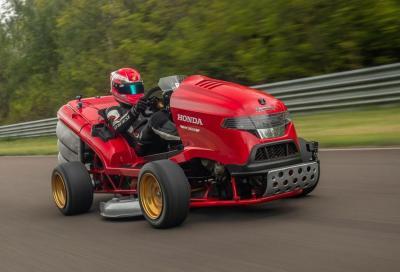 Honda Mean Mower V2: un tosaerba da far girare la testa!