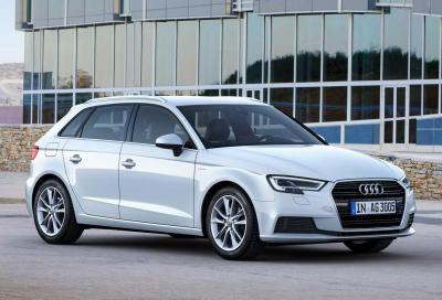 Nuova Audi A3 g-tron: benvenuto 1.5 TFSI a metano da 131 CV