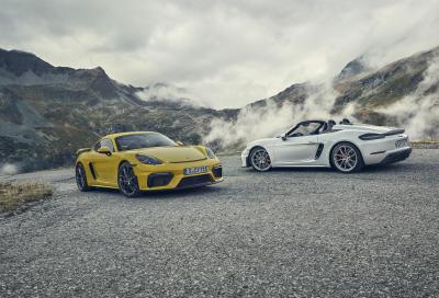Porsche Cayman GT4 e 718 Spyder: pura adrenalina