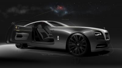 La nascita della Rolls Royce Wraith Eagle VIII