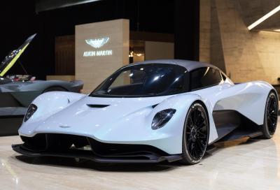 Aston Martin battezza la Valhalla