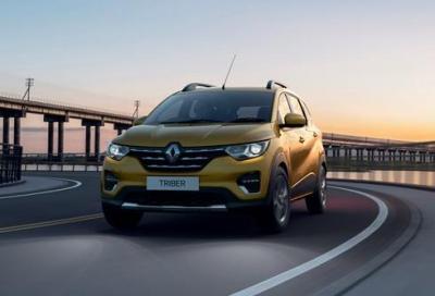 Renault punta all'India con la Triber