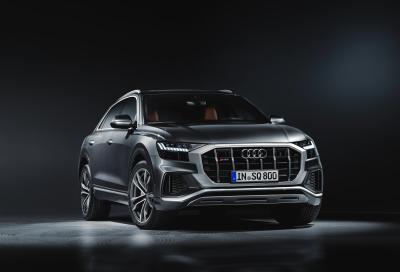Audi SQ8: lusso da 435 CV e 900 Nm