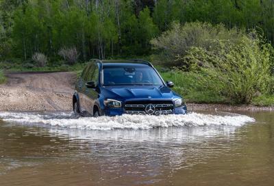 Mercedes GLS: lusso, stile e… si lava da sola!