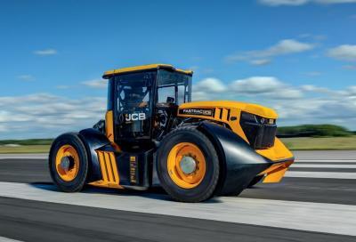 Il trattore più veloce del mondo