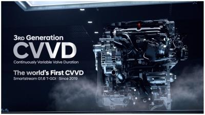 Hyundai 1.6 T-GDi: benvenuto sistema Cvvd