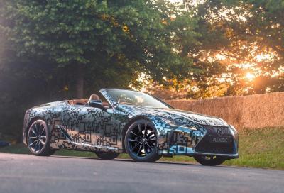 Lexus conferma la LC Convertible