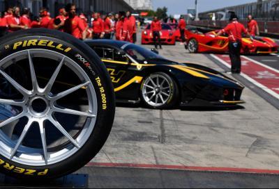 Pirelli P Zero e Ferrari XX festeggiano 10.000 unità