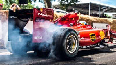 Formula 1 a Goodwood: le foto più belle