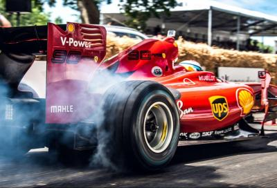 Formula 1 a Goodwood: le foto più belle