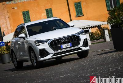 Audi Q3 35 TFSI S-Line edition: la dolce... guida