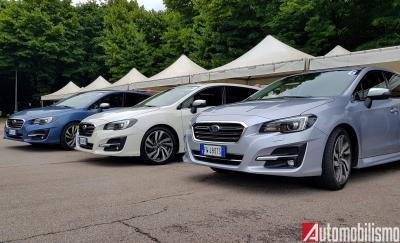 Subaru Levorg: sicura di sè