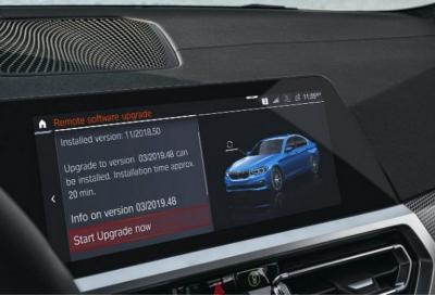 BMW: la aggiorni come lo smartphone