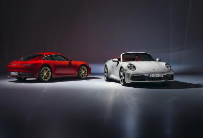 Porsche 911 Carrera: l'ottava generazione si allarga