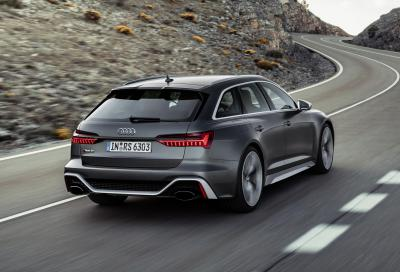 Audi RS6 Avant: 600 CV e tecnologia mild hybrid