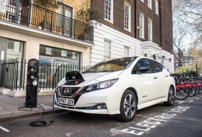 Regno Unito: colonnine di ricarica superano benzinai