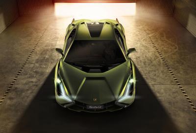 Lamborghini Sian: fulmine a ciel sereno