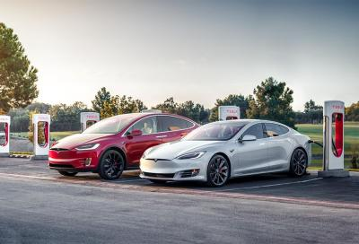 Tesla Supercharger: colonnine spinte fino a 150 kW