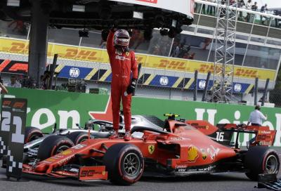 F1, Leclerc incanta Monza e i suoi Tifosi