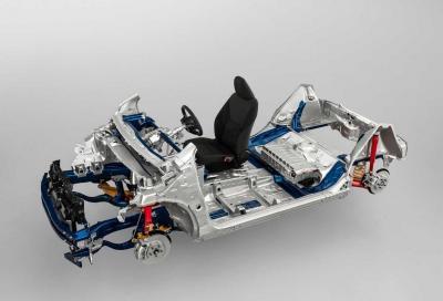 Toyota mette in mostra la sua piattaforma modulare