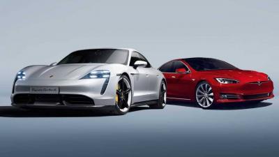 Porsche Taycan vs Tesla Model S: su carta chi la spunta?