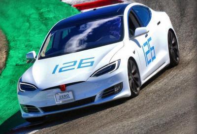 Tesla Model S: al Nurburgring con 7 posti è 20 secondi più veloce di Taycan?