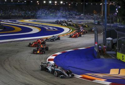 F1, GP di Singapore: anteprima e orari TV