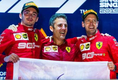 F1, Vettel e la Ferrari rinascono a Singapore