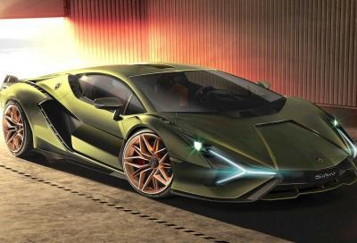 Lamborghini Sian: l'ibrida con i supercondensatori