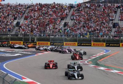 F1, GP di Russia: anteprima e orari TV