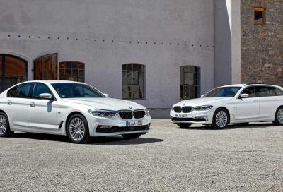 BMW 520d: benvenuto mild-hybrid 48 Volt