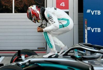 F1, Mercedes torna alla vittoria in Russia