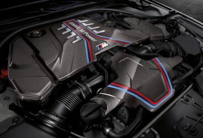BMW al lavoro su un nuovo V8 biturbo