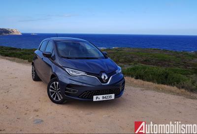 Renault Zoe, atto III: un mare di novità